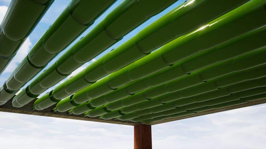 Kilpailutyö #18 kilpailussa 3D Set's Shelter/Roof design