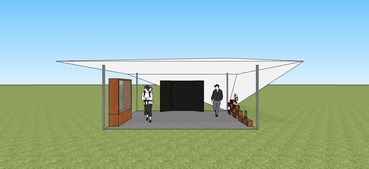 Kilpailutyö #17 kilpailussa 3D Set's Shelter/Roof design