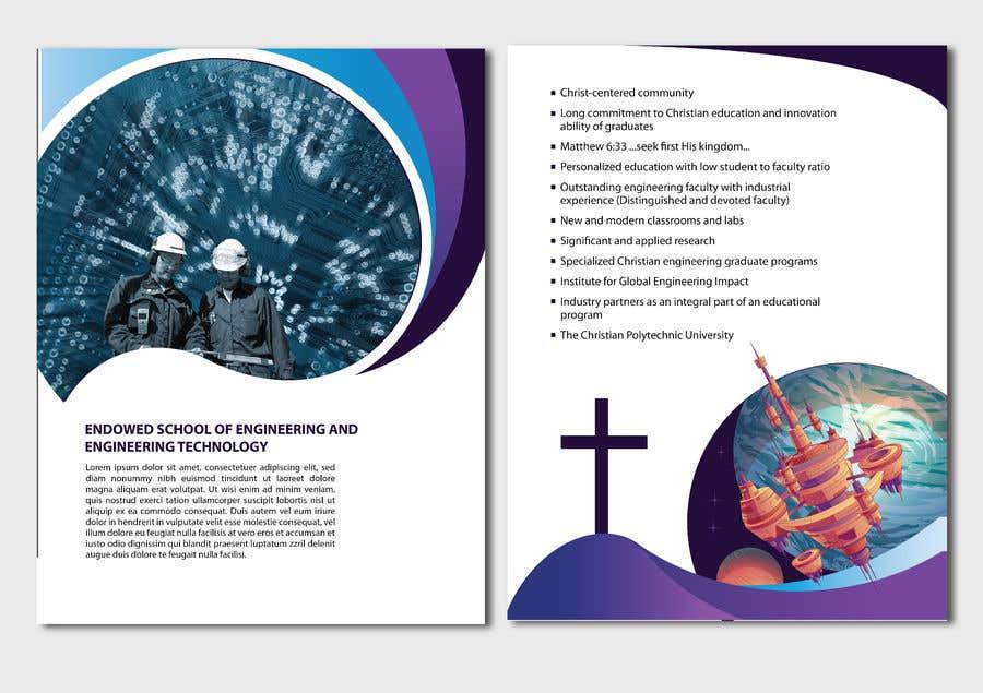 Penyertaan Peraduan #12 untuk College of Engineering Vision 2046 brochure Contest