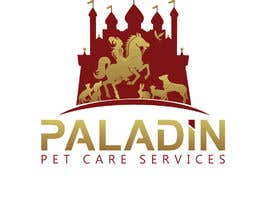 #48 for logo for Paladin Pet Care Services. A Pet Sitting & Dog Walking business. Would like a female knight riding a horse to feature. Must also include a dog, a cat & other pets. Looking for a unique, sophisticated logo with a royal flavour. by flyhy