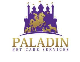 #57 for logo for Paladin Pet Care Services. A Pet Sitting & Dog Walking business. Would like a female knight riding a horse to feature. Must also include a dog, a cat & other pets. Looking for a unique, sophisticated logo with a royal flavour. by flyhy