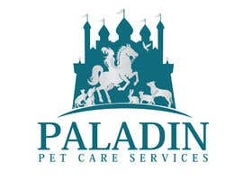 #58 for logo for Paladin Pet Care Services. A Pet Sitting & Dog Walking business. Would like a female knight riding a horse to feature. Must also include a dog, a cat & other pets. Looking for a unique, sophisticated logo with a royal flavour. by flyhy