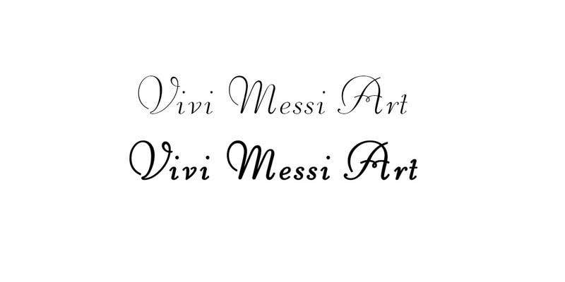 Contest Entry #44 for Logo for handmade creations by an Italian artisan - Vivi Messi Art