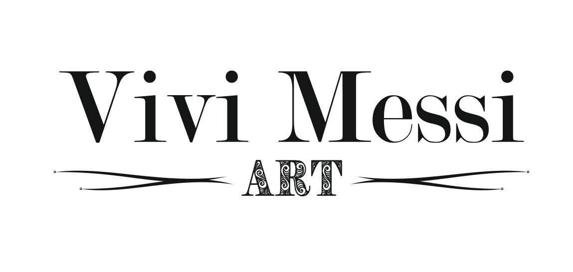 Contest Entry #46 for Logo for handmade creations by an Italian artisan - Vivi Messi Art