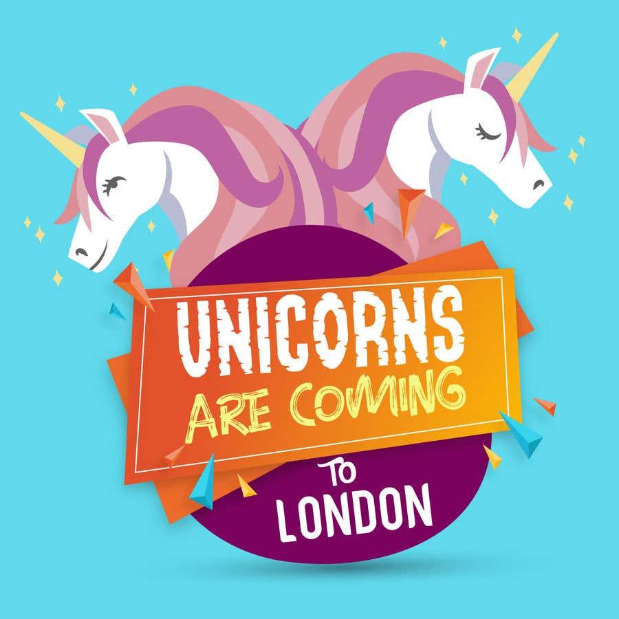 Kilpailutyö #2 kilpailussa Multiple Facebook and Istagram adverts needed kids Unicorn Event