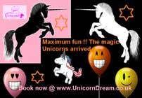 Graphic Design Kilpailutyö #4 kilpailuun Multiple Facebook and Istagram adverts needed kids Unicorn Event
