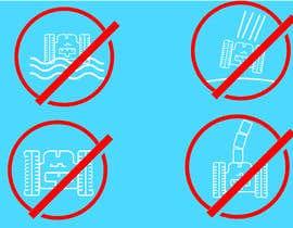 Nro 11 kilpailuun Create 4 Icons / warning symbols käyttäjältä JunaidFatyana
