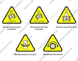 Nro 15 kilpailuun Create 4 Icons / warning symbols käyttäjältä nazarlazorenko