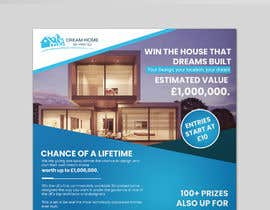 #142 for Flyer Design for Dream Home House Raffle by stylishwork