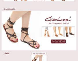 #23 para ADS Banner for shoes website: shop now! por oobqoo