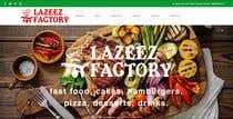 Graphic Design Конкурсная работа №17 для Design A Website and Logo For Restaurant