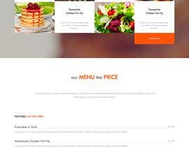 #111 untuk Design A Website and Logo For Restaurant oleh prantabaruawork