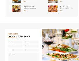 #109 untuk Design A Website and Logo For Restaurant oleh oelbanna026