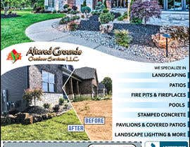 #16 for Design Print Ad For Landscaping Business by saurov2012urov