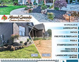 #17 for Design Print Ad For Landscaping Business by saurov2012urov