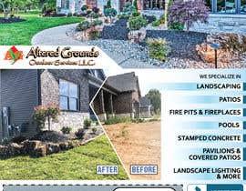 Nro 17 kilpailuun Design Print Ad For Landscaping Business käyttäjältä saurov2012urov