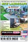 Graphic Design Конкурсная работа №30 для Design Print Ad For Landscaping Business