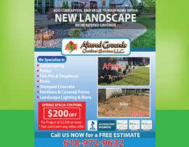 #29 for Design Print Ad For Landscaping Business by Sreesujitdeb