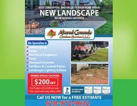 Nro 29 kilpailuun Design Print Ad For Landscaping Business käyttäjältä Sreesujitdeb