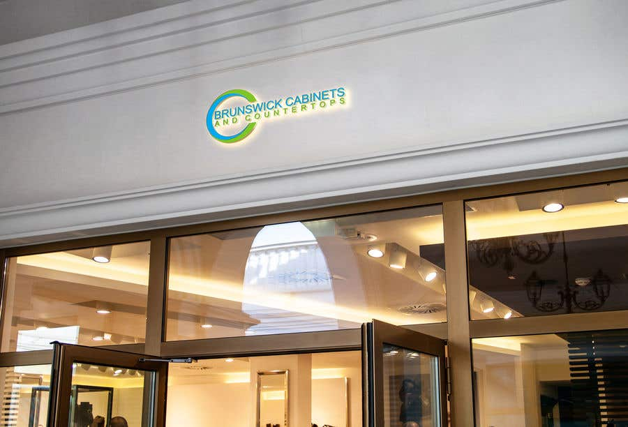"""Proposition n°238 du concours 1. Logo design for business 2. Creative for building sign that measures 68"""" tall by 93"""" wide"""