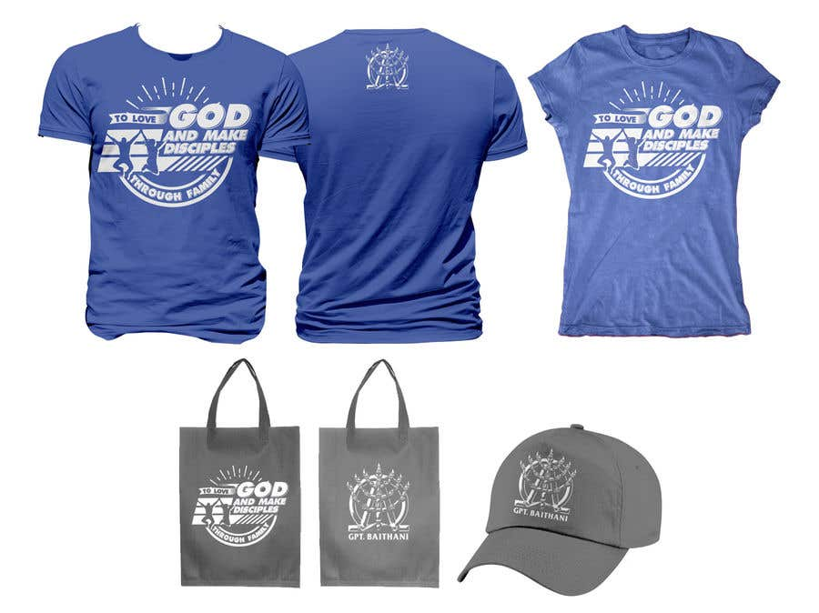 Konkurrenceindlæg #26 for Merchandise Design for Easter Church Gathering Event