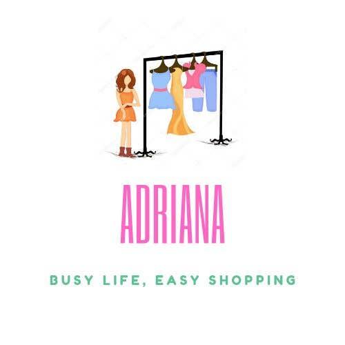"Penyertaan Peraduan #53 untuk Design a logo for a Women Clothing Brand ""Adriana"""