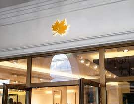nº 8 pour Original icon for: Gold maple leaf 'in the wind' par NeelSagarbd
