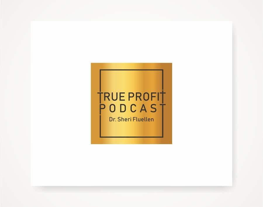 Penyertaan Peraduan #42 untuk True Profit Podcast Logo