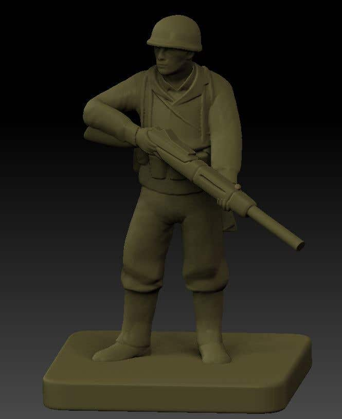 Inscrição nº 9 do Concurso para 3D Model Tiny Soldier Miniature