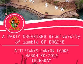 #3 for Design an a party flyer organised by school of engineering af Omneyamoh