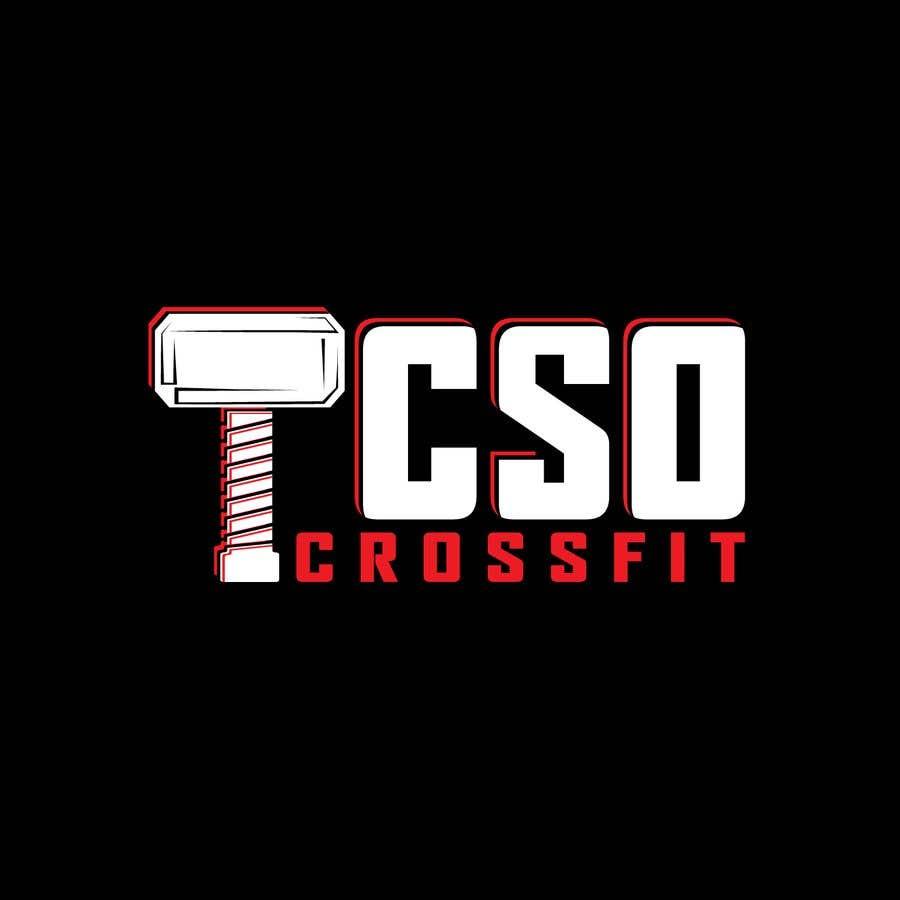Bài tham dự cuộc thi #89 cho Crossfit TCSO - logo design