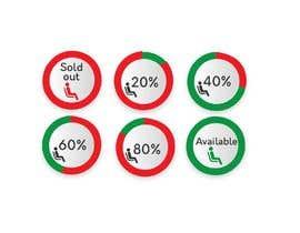 #55 untuk design seat occupancy icons oleh ashar1008