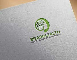"""#47 for we are a new medical practice specialising in surgical management of the brain and spine. our company name is """"Brainhealth Neurosurgery and Spine"""". we need a fresh and nice logo. (try avoid the scalpels and snakes that are usually associated with medical  by DesignDesk143"""