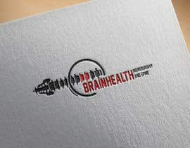"""#57 for we are a new medical practice specialising in surgical management of the brain and spine. our company name is """"Brainhealth Neurosurgery and Spine"""". we need a fresh and nice logo. (try avoid the scalpels and snakes that are usually associated with medical  by albakry20014"""