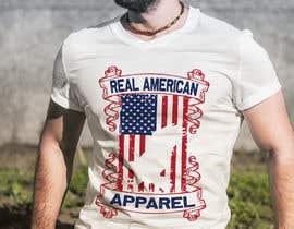 Nro 35 kilpailuun Real American Apparel designs käyttäjältä stsohel92