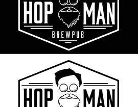 #16 pentru As you can see, we have a logo, but we need to change the slogan of it and some words. Instead of Hop Doc  - we want it to be Hop Man. And slogan should be Brewpub. If we will like your style - we will work a lot in the future! de către PSdesigner280