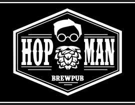 #18 pentru As you can see, we have a logo, but we need to change the slogan of it and some words. Instead of Hop Doc  - we want it to be Hop Man. And slogan should be Brewpub. If we will like your style - we will work a lot in the future! de către marloses