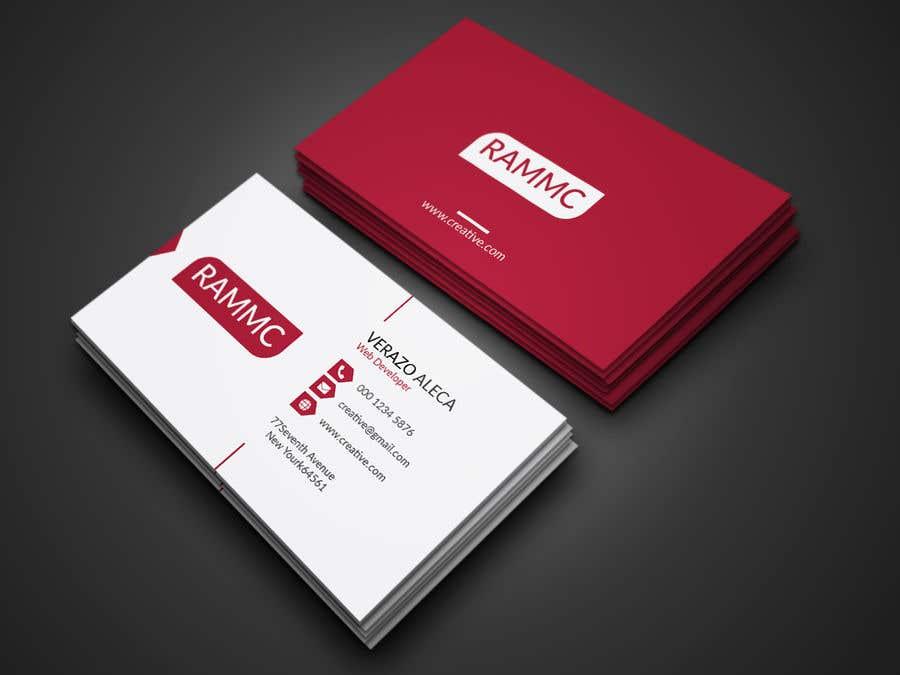 Inscrição nº 202 do Concurso para Business card design