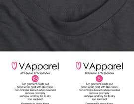Nro 3 kilpailuun washing label design käyttäjältä b3ast61