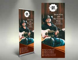 #28 untuk Vertical Banner Signage for Country Band oleh alomgirdesigner