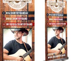 nº 5 pour Vertical Banner Signage for Country Band par b3ast61