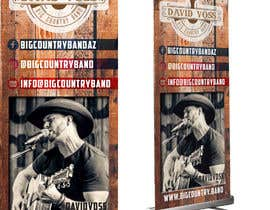 #6 для Vertical Banner Signage for Country Band от b3ast61
