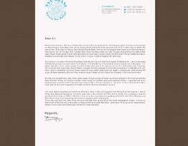 #39 for design letterhead af rashedul070