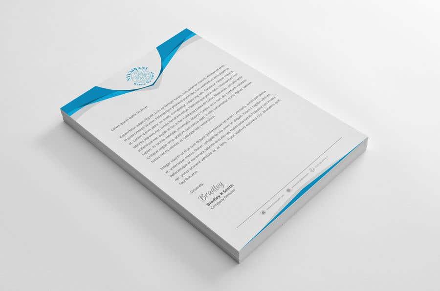 Penyertaan Peraduan #64 untuk design letterhead
