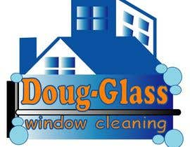 Nro 16 kilpailuun Create a logo for my window cleaning business EASY (examples provided) Doug-glass Window Cleaning käyttäjältä Beetlemuse