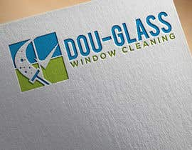 Nro 9 kilpailuun Create a logo for my window cleaning business EASY (examples provided) Doug-glass Window Cleaning käyttäjältä tahminaakther512