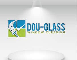 Nro 12 kilpailuun Create a logo for my window cleaning business EASY (examples provided) Doug-glass Window Cleaning käyttäjältä tahminaakther512
