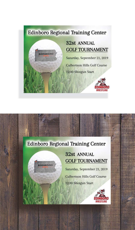 """Intrarea #2 pentru concursul """"Save The Date ERTC Golf Outing"""""""