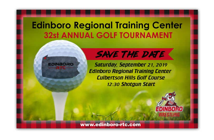 """Intrarea #10 pentru concursul """"Save The Date ERTC Golf Outing"""""""