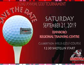 #9 untuk Save The Date ERTC Golf Outing oleh dadricafe